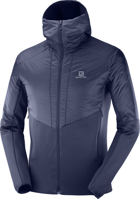 Salomon Outline Warm Jacket Men night sky